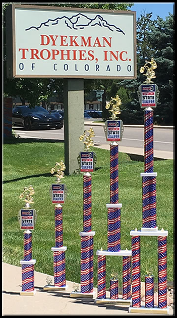 Dyekman Trophies, Inc  of Colorado - Custom Sport Trophies and Awards